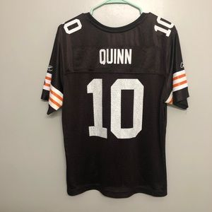 Cleveland browns Brady Quinn jersey 10 boys XL